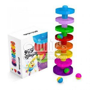 اسباب بازی توپ و سرسره ۸ طبقه 1