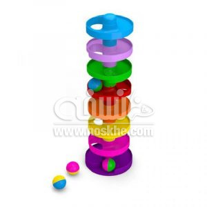 اسباب بازی توپ و سرسره ۸ طبقه 2