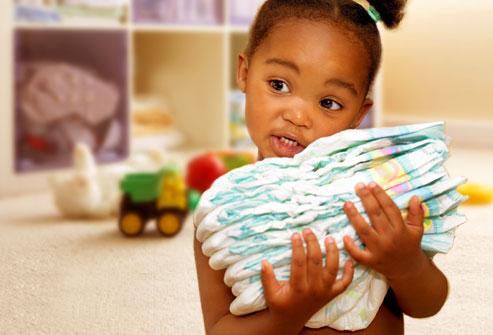 نوزادان, خردسالان و اسهال