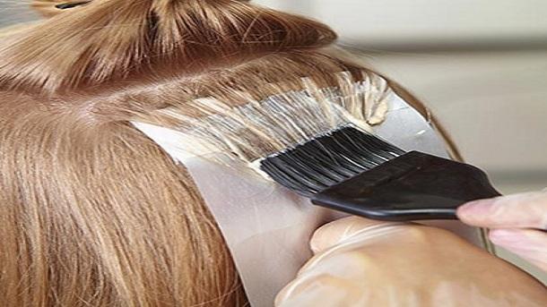 رنگ کردن مو ها