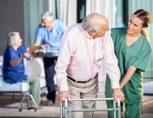 خانه سالمندان و بیمار آلزایمری