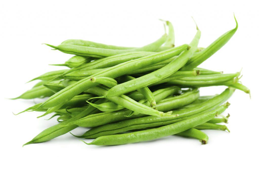 لوبیا سبز پاک شده