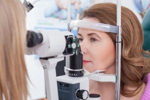 تست میدان بینایی برای بررسی گلوکوم