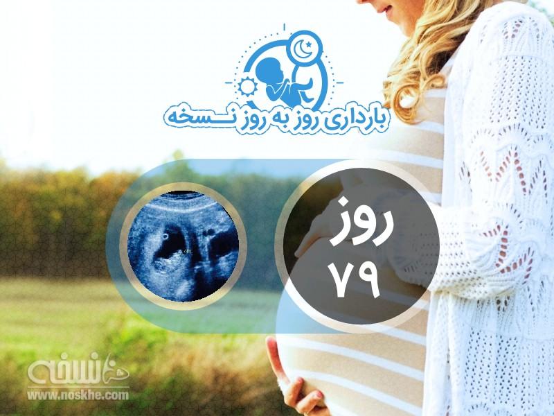 روز هفتاد و نهم بارداری