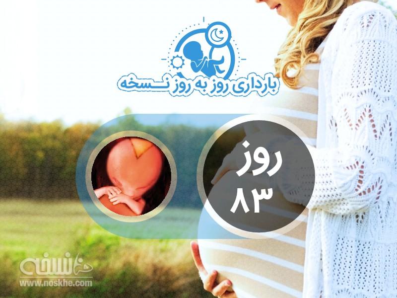 روز هشتاد و سوم بارداری
