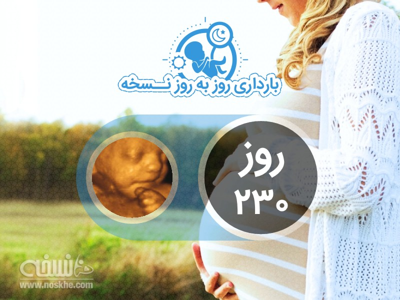روز دویست سی ام بارداری