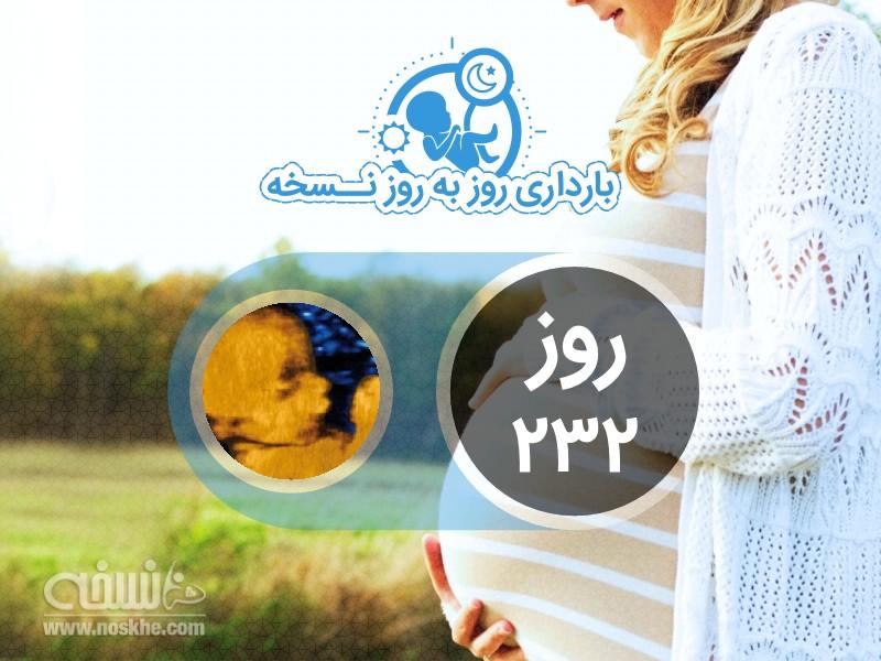 روز دویست و سی و دوم بارداری
