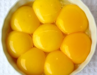 زرده تخم مرغ