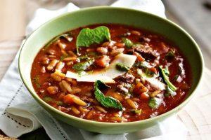سوپ غلیظ گوشت گوساله