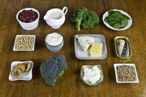 موادغذایی غنی از کلسیم
