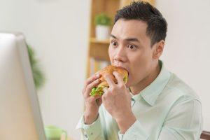 غذاخوردن با استرس