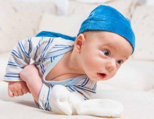 رشد کودک - غلت خوردن