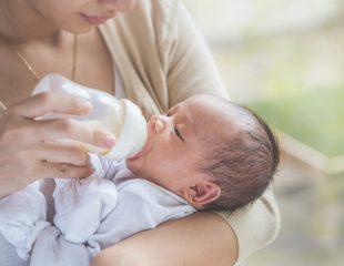 تغذیه نوزاد با شیر خشک و آنفولانزا