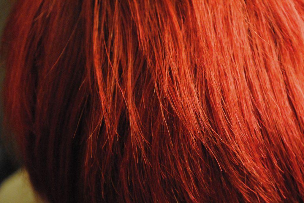 رنگ مو یا استفاده از مواد شیمیایی
