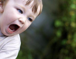جیغ زدن در کودکان نوپا