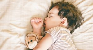 عادت های خواب در خردسالان