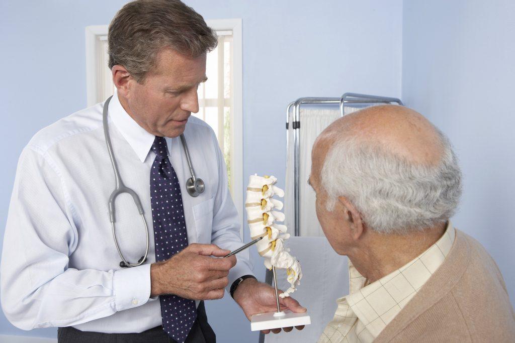 درمان شکستگیهای فشاری ستون فقرات