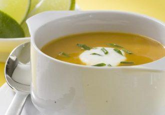 سوپ کدوحلوایی
