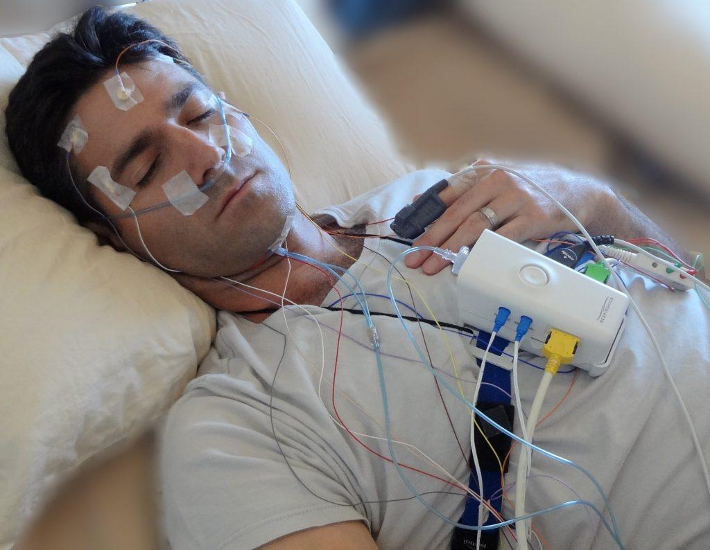 یک تست خواب یا پلی سومنوگرافی چگونه کار می کند ؟