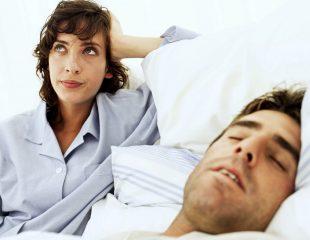 زمانی که همسر شما یک اختلال خواب دارد