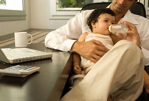 پیوند با کودک بدون شیردهی