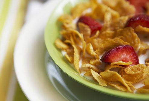 صبحانه مبارزه کننده با سرطان