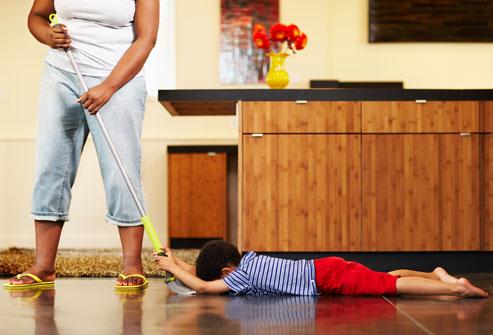 کودکان و مواد شیمیایی در خانه
