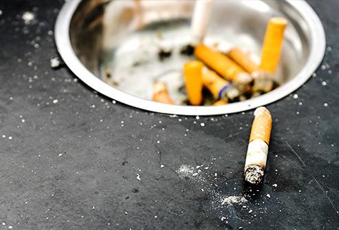 عدم مصرف دخانیات