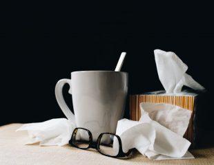 ورزش کردن در هنگام مریضی