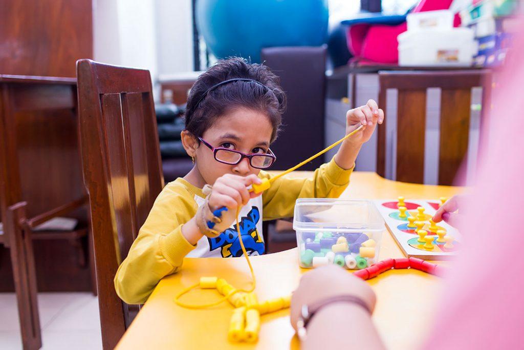 تشخیص و تاثیر آن در روند کاردرمانی و توانبخشی کودک
