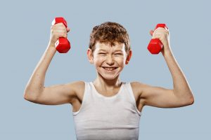 قدرت و استقامت در کودکان