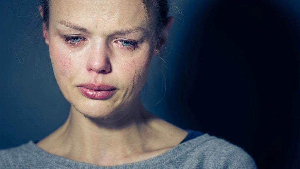 گریه افسردگی