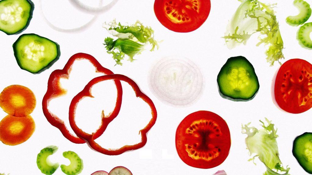 1 . غذای غنی فیبر