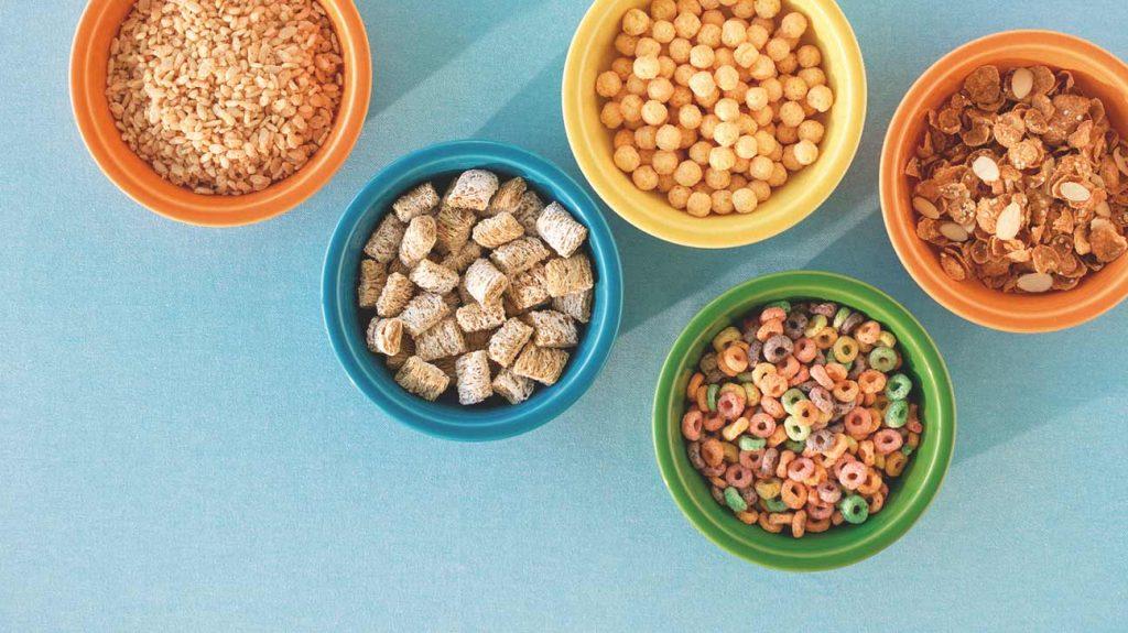 4 . غلات غنی شده (Fortified cereals)