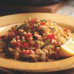 دمی برنج و سبزیجات