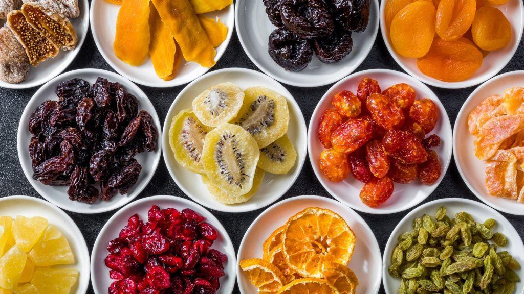 8 . میوه خشک