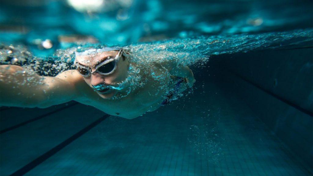 4 . شنا کردن