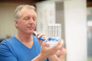 اسپیرومتری یک تست رایج در بیماری های تنفسی شایع