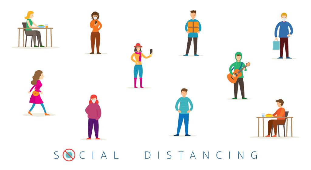 فاصله اجتماعی فاصله گرفتن از اجتماع